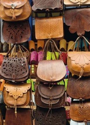 Эксклюзивная винтажная сумка ручной работы с о.майорка, седельная кожа