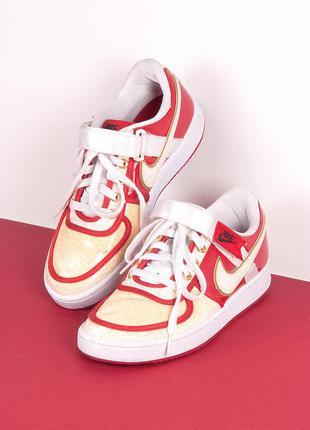 Эксклюзивные красные кроссовки nike air force, размер 38