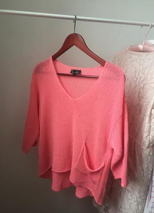 Легкий летний свитер кофта