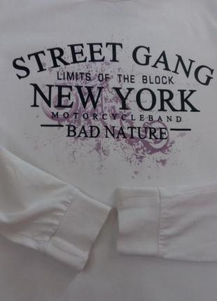 Реглан, кофта, футболка new york ідеал.