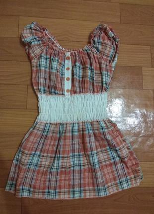 Милое легкое  платье