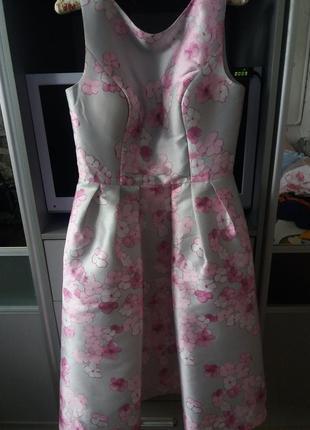 Нереальной красоты выпускное, вечернее платье chi chi london