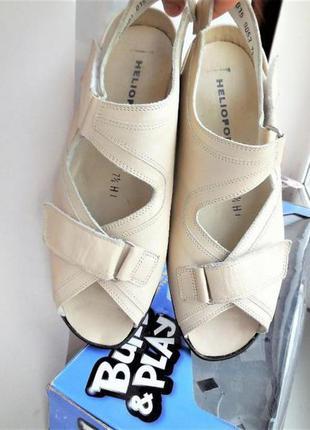 Кожаные босоножки rieker рикер antistress сандали ecco ara женские 40-41р-26,5