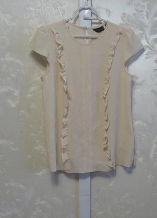 Милая блуза с рюшами dorothy perkins