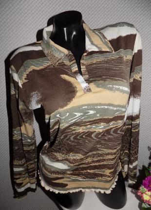 Фирменный реглан, блуза, лонгслив от легендарного бренда