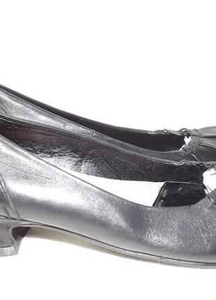 Туфли балетки 37 размер, кожаные kookai 24 стелька