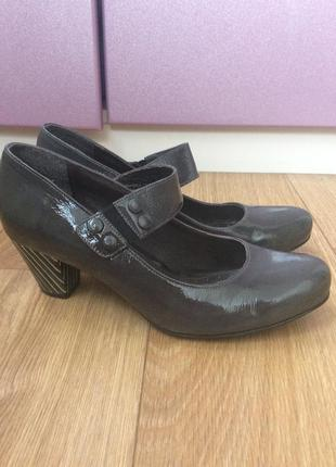Кожаные туфли bianco