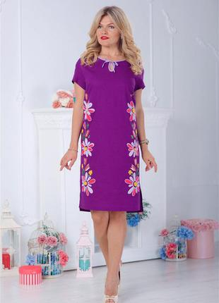 """Платье с вышивкой от бренда """"modis"""" эксклюзив! один размер! 1400грн!!!"""