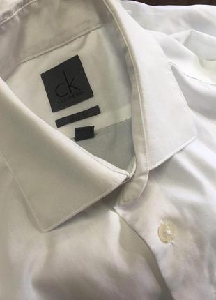 Calvin klein рубашка slim fit