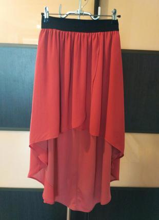 "Нежная, воздушная юбка со шлейфом ""pull&bear"""