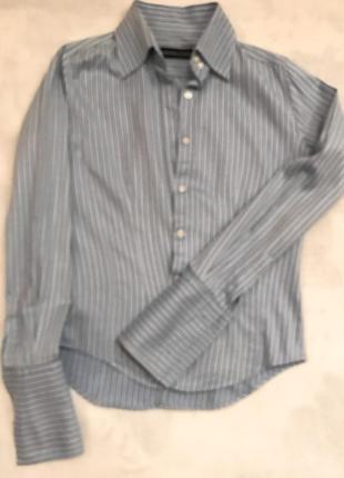 Стильная рубашка под запонки