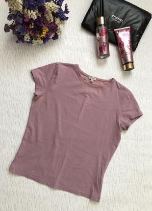 Massimo dutti  базовая футболка актуального цвета