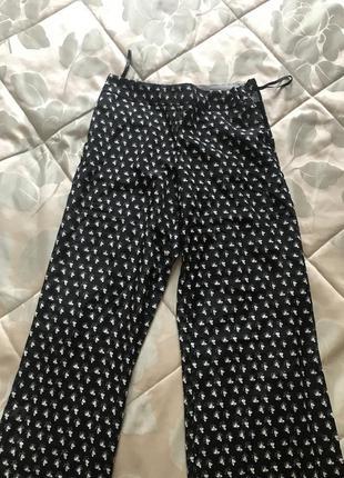 Легкие широкие брюки next