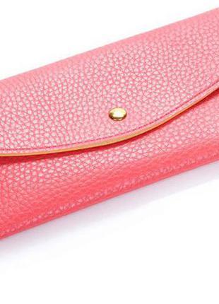 Кошелёк кошелек кошелечек красный классный портмоне визитница кошель