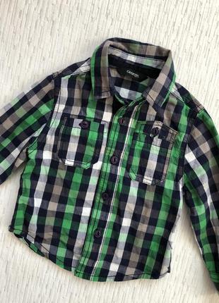Рубашка на мальчика 1- 1,5 года