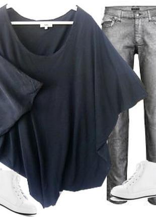 Туника хлопок трикотаж шолк размер  46-48 бренд  noa noa