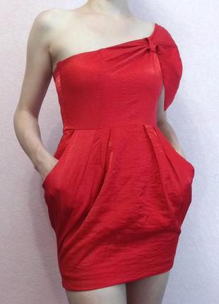 Красное платье ax paris