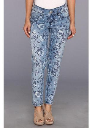Классные укороченные модные джинсы на об 110-120