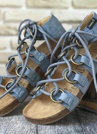 Кожаные сандалики для девочки jonnys (испания)