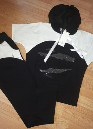 Комбинированный прогулочный костюм calvin klein