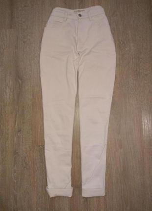 Стильные джинсы мом высокая посадка