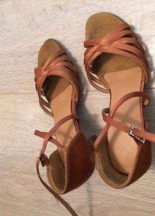 Туфли для бальных танцев5