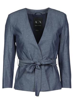 Легкий пиджак armani exchange