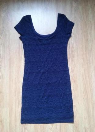 Платье кружевное гипюровое