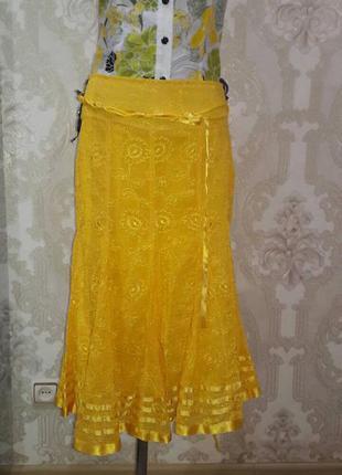 Распродажа!!! красивая, яркая, летняя юбка!!!