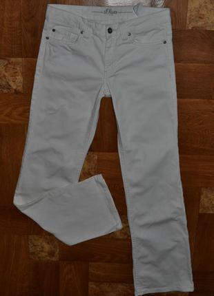 Белые джинсы s.oliver