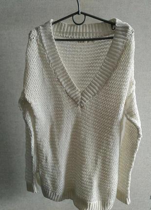 Удлиненный свитер bershka