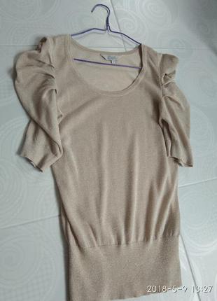 Кофта, кофточка, футболка с люрексовой нитью
