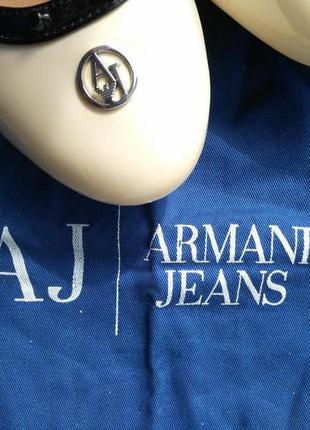 Балетки armani jeans, новые, оригинал