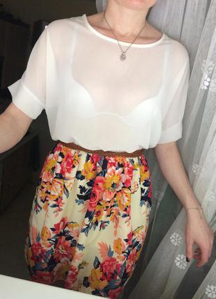 Красиве літнє плаття ) розмір с-м-л