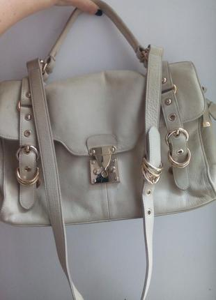 Reiss сумка , натуральная кожа.