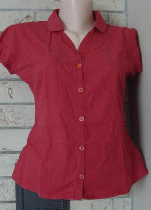Тончайшая летняя блузочка из коттона