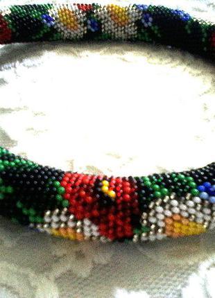 Hand made жгут бисерный