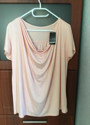 Базовая блуза,кофточка большого размера - 18 - 20, наш - 52 - 54