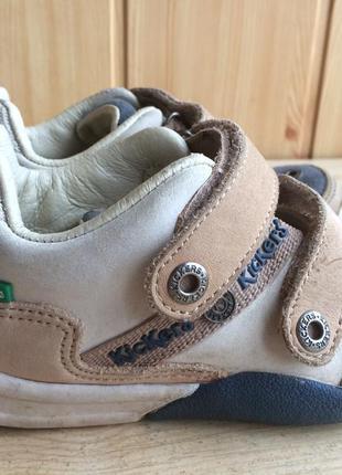 Лёгкие и удобные кеды туфли от kickers