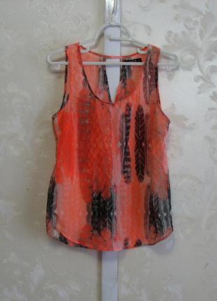 Полупрозрачная блузка vila clothes