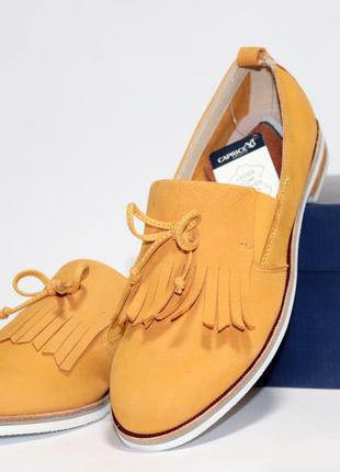 Туфли caprice германия, оригинал. натуральная кожа. 37