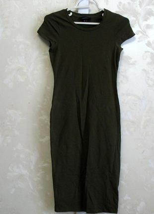 Коттоновое  платье по фигуре atmosphere