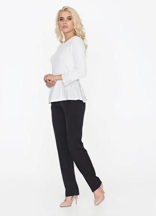 Нежная белая блуза nenka