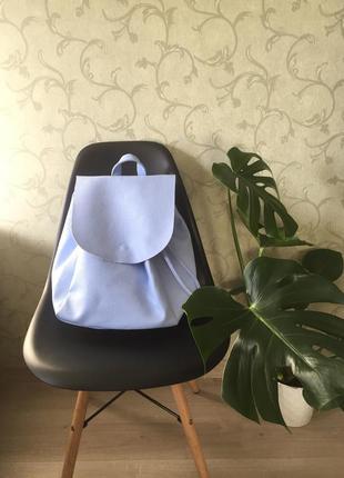 Новый портфель нежно- голубого цвета terranova