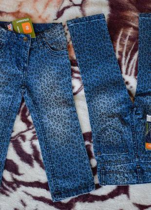 Новые джинсы для  девочек lupilu 86cm