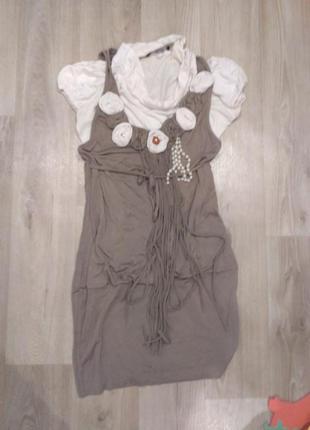 Итальянское трикотажное платье rinascimento