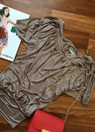 Нарядная кофта блузка большого размера