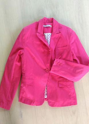 Bien bieu пиджак ярко малинового цвета