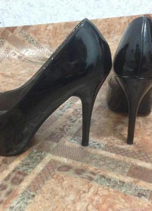 Туфли на с открытым носком