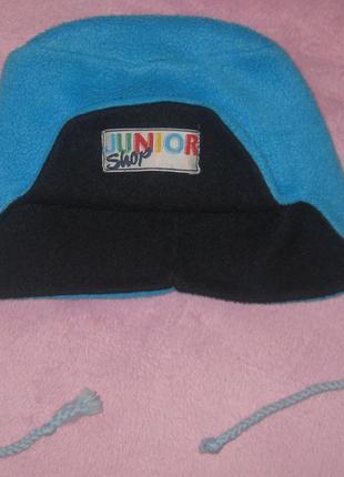 Деми шапка junior двойной флис